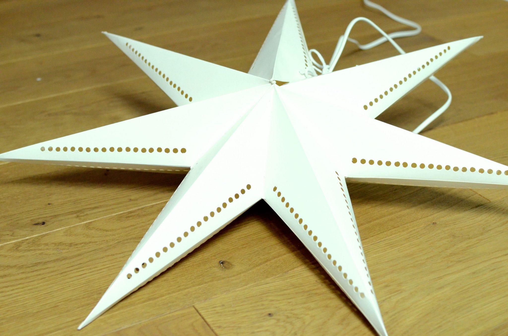 Weihnachtsstern Mala von Bungalow weiß - Papierstern