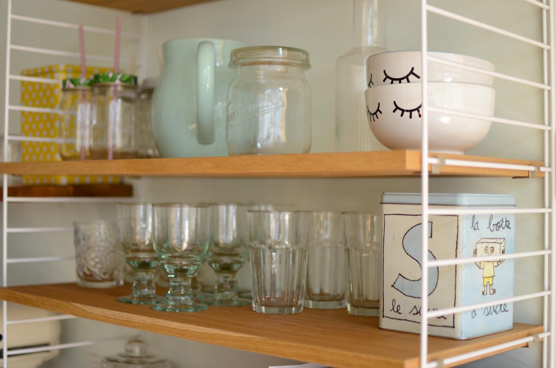 String Regal Küche. Ikea Rollcontainer Küche Arbeitsplatte Mit ...