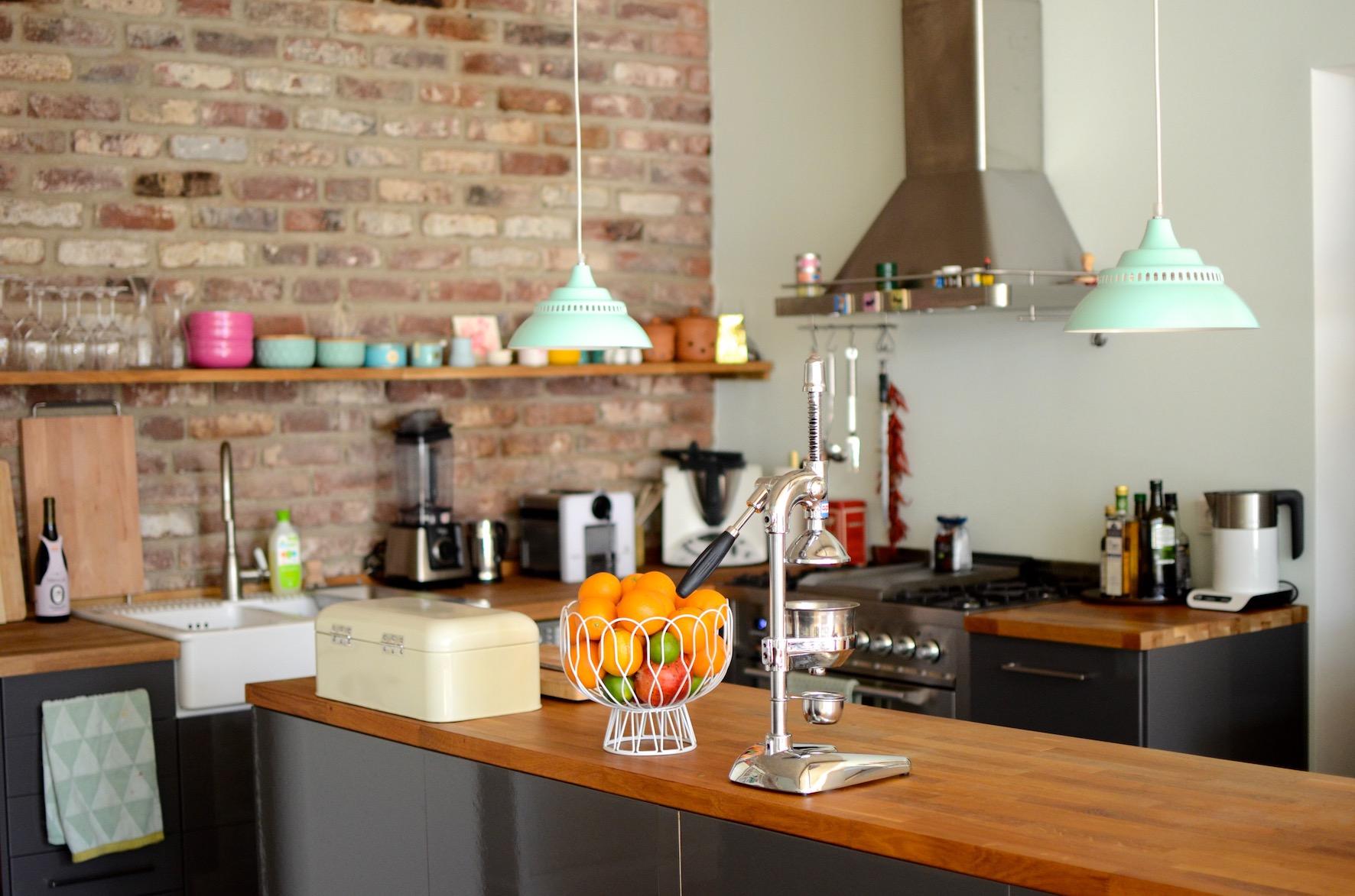 Wohnküche Kücheninsel
