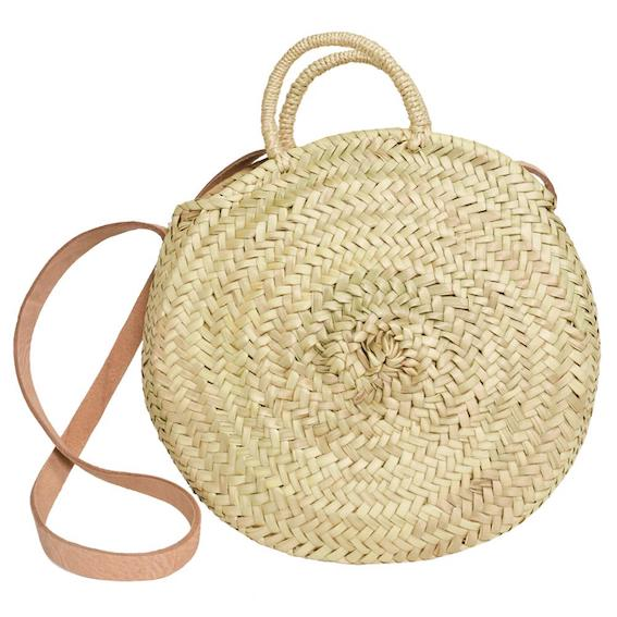 Cross-Body Bag Boho Strohtasche